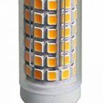 ECOBELLE 10 x Ampoules Haute Puissance LED G9 5W 650 Lumen (Equivalent 50W), Couleur Blanc Naturel 4000k, Size: 1.86 x 6.3 cm, 360°, Flicker Free de la marque Ecobelle image 3 produit