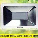 ECOBELLE® Projecteur à LED 150W 14500 Lumen (Équivalent 900W Halogèn), pour Éclairage Extérieur IP65, lumière blanche froide 4000k, Very Slim Flood Light, Anti-éblouissement de la marque Ecobelle image 1 produit