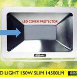 ECOBELLE® Projecteur à LED 150W 14500 Lumen (Équivalent 900W Halogèn), pour Éclairage Extérieur IP65, lumière blanche froide 4000k, Very Slim Flood Light, Anti-éblouissement de la marque Ecobelle image 2 produit