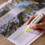 Edding 4–24–1–1005surligneur Highlighter 24Ecoline, rechargeable, jaune de la marque Edding image 3 produit