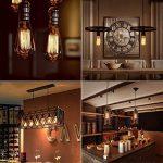 Edison Ampoule halogène E27 à Incandescence, Kakanuo ST64 Ampoule Vintage 60W 220V, Lampe Tungstène Décoration Classique, Ampoule Filament Antique Dimmable Blanc Chaud 2200k (Lot de 4) de la marque Kakanuo image 3 produit
