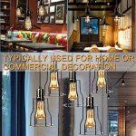 Edison Ampoule , Mixigoo Edison Lampe LED Vintage Ampoule Décorative E27 4W ST64 Antique Filament Rétro Lumière Blanc Chaud Pour Lampe Murale Lampe Suspendue Suspension - 6 Pack de la marque mixigoo image 3 produit