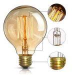 Edison Ampoule Vintage(Lot 3PCS) - E27 Rétro Ampoule Décorative Antique Lampe (40W,220V) - Blanc Chaud - Pour Lampe Murale Lampe Suspendue Suspension de la marque ChicDécoré image 1 produit