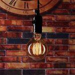 Edison Ampoule Vintage(Lot 3PCS) - E27 Rétro Ampoule Décorative Antique Lampe (40W,220V) - Blanc Chaud - Pour Lampe Murale Lampe Suspendue Suspension de la marque ChicDécoré image 3 produit