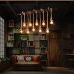 Edison Ampoule Vintage(Lot 3PCS) - E27 Rétro Ampoule Décorative Antique Lampe (40W,220V) - Blanc Chaud - Pour Lampe Murale Lampe Suspendue Suspension de la marque ChicDécoré image 4 produit