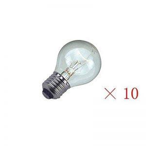 Edison ampoules ampoules 40W - Pack de 10 ES vis GLS ronde Clear 240V pour toute lampe E27 Lampe de Table notamment, lampe de chevet bureau et ainsi de suite, par Brightfour [énergie classe E] de la marque Brightfour image 0 produit