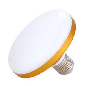 eecoo Ampoule LED UFO E27 Super puissance Économie d'énergie 12W = 100W SMD2835 6500K 800-1200LM Lampe Atelier Éclairage (24W) de la marque eecoo image 0 produit