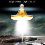 eecoo Ampoule LED UFO E27 Super puissance Économie d'énergie 12W = 100W SMD2835 6500K 800-1200LM Lampe Atelier Éclairage (24W) de la marque eecoo image 1 produit