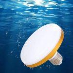 eecoo Ampoule LED UFO E27 Super puissance Économie d'énergie 12W = 100W SMD2835 6500K 800-1200LM Lampe Atelier Éclairage (24W) de la marque eecoo image 3 produit