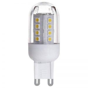 Eglo 11514 Lot de 2 Ampoules G9 LED 4000K 2,5 W 300 lumens Lumière du Jour de la marque EGLO; my light; my style image 0 produit