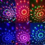 EJBOTH Étape lampe de boîte de nuit RGB, lumières LED RGB lumière d'étape AC 220V Phase cristal rotation ampoule avec le Marquee dans l'éclairage du projecteur Ambiance boule de lumière pour bar discothèque KTV activation DJ Voix de Noël de la marque EJBO image 3 produit
