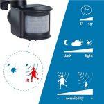 Electraline 63006 Projecteur halogène avec détecteur/ampoule 400 W Noir de la marque Electraline image 1 produit