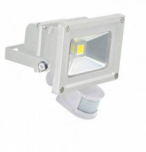 Electrovision - Projecteur Blanc à LED avec Détecteur PIR - Dimensions: 10W de la marque Eagle image 0 produit