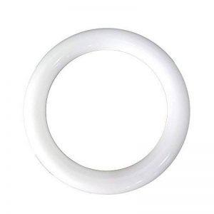ELEDISON (1-Pack) T9 Bague Tube rond de tube LED Tube 18 W 300 mm Frosted Couverture Retrofit Plafonnier LED Cercle Tube ampoule 6000 K Blanc White 6000K de la marque ELEDISON image 0 produit