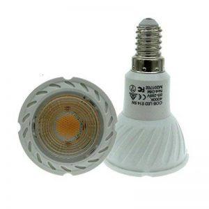 ELEDISON 2-Pack E14 Petit Edison à vis LED Lampe Spot LED 5 W, ampoule non compatible avec variateur d'intensité, équivalent 50 W Ampoule halogène Natural White 4000K de la marque ELEDISON image 0 produit