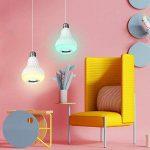 EleLight LED E27 Sans fil Musique 12W 220V Ampoule RGB Bluetooth Lampe Éclairage avec Télécommande pour Scène, Maison, Chambre à Coucher, Fête de la marque EleLight image 1 produit