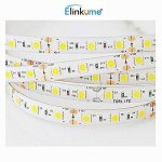 Elinkume 10M Bande Flexible 60 SMD 5050 Bande Flexible Blanc Froid Bandes LED Flexibles DC12V LED(SMD) Strip de la marque ELINKUME image 3 produit