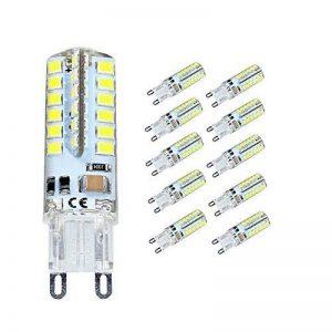Elinkume 10X G9 Ampoule LED 3.5W [Équivalent 35w ampoule halogène] Super Lumineux Économie D'énergie Ampoule Lampe Blanc Froid 320LM Lumiere LED AC200V de la marque ELINKUME image 0 produit