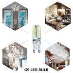Elinkume 10X G9 Ampoule LED 3.5W [Équivalent 35w ampoule halogène] Super Lumineux Économie D'énergie Ampoule Lampe Blanc Froid 320LM Lumiere LED AC200V de la marque ELINKUME image 4 produit