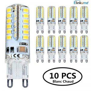 Elinkume 10X G9 Ampoule LED 3.5W Super Lumineux LED Bulb 48 SMD 2835 Spot LED Blanc Chaud 300-320LM LED à économie d'énergie Ampoule LED AC200-240V de la marque ELINKUME image 0 produit