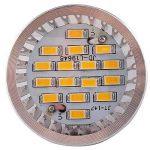 Elinkume 10X GU10 Ampoules LED 6W Lampe Bulb 16 SMD 5630 LED Spot Ampoule Lampe 500LM Super Lumineux lampe de salon Blanc Chaud (3000K) AC 90-240V de la marque ELINKUME image 1 produit