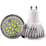 ELINKUME 10X GU10 LED Light Bulb 6W Spot LED 5630 SMD LED Lampe Blanc Froid 480-500LM Ampoules LED Basse Consommation AC 90-240V de la marque ELINKUME image 3 produit