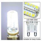 Elinkume 5X G9 Ampoule LED 5W Lumière LED 48 SMD 2835LED Light Bulb Blanc Froid 380-400LM Lampe LED AC200-240V [Classe énergétique A++] de la marque ELINKUME image 1 produit