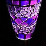 En acier inoxydable à énergie solaire mosaïque marocaine en bordure de jardin lanternes LED magnifique Nuit Lumière Lampe Déco Jardin Patio Soleil à Eco de la marque E-Bargains image 2 produit