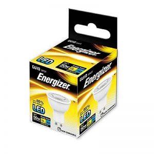 Energizer GU105W Ampoule LED, 50W Remplacement traditionnel 355lm Blanc chaud, blanc, Lot de 10, GU10 de la marque Energizer image 0 produit