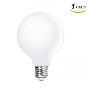 ENUOTEK Grosse Lampe Ampoule Globe LED Boule a Edison E27 Globe LED G95 6W Blanc Froid 5000K pour Lampe Suspension Suspendue, Remplace Ampoule Incandescente 60W, Lot de 1 de la marque ENUOTEK image 0 produit