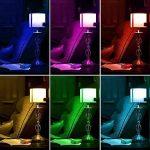 Esbaybulbs Ampoules de couleur E14 10W RGBW LED Ampoules Dimmable 16 changement de couleur Lampe lumière avec telecommande sans fil de la marque Esbaybulbs image 1 produit