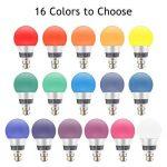 Esbaybulbs Ampoules LED RGBW 10W B22 Baïonnette 16 Couleur Changeante Ampoule avec Télécommande pour la Décoration maison Party Bar KTV de la marque Esbaybulbs image 1 produit