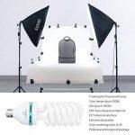 ESDDI Lamp Studio Photo, 85W E27 5500K Continue Photo Studio Ampoule pour Softbox Vidéo Lumière Lampe du Jour de la marque ESDDI image 1 produit