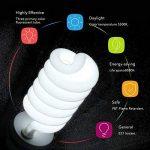 ESDDI Lamp Studio Photo, 85W E27 5500K Continue Photo Studio Ampoule pour Softbox Vidéo Lumière Lampe du Jour de la marque ESDDI image 2 produit