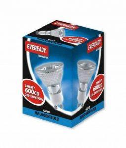 Eveready Lot de 10ampoules spot lampe halogène GU1035W (emballage Peut varier) de la marque Eveready image 0 produit