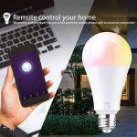 EXTSUD Ampoule WIFI 10W E27 Connectée Intelligente Lampe LED Dimmable Contrôlé par Amazon Echo Alexa, Smartphone Android et iOS, Tablette de la marque EXTSUD image 2 produit
