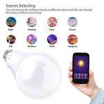 EXTSUD Ampoule WIFI 10W E27 Connectée Intelligente Lampe LED Dimmable Contrôlé par Amazon Echo Alexa, Smartphone Android et iOS, Tablette de la marque EXTSUD image 4 produit
