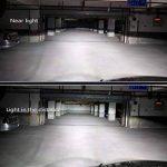 Fansport Ampoule Automobile, 2Pcs Ampoules H4 12V 100W 6000K Xenon Halogène Blanc Lumière Ampoules LED pour Voiture de la marque Fansport image 2 produit
