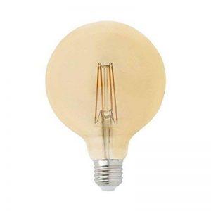 Faro 17434 ampoule GLOBE FILAMENT LED AMBRE E27 5W 2200K dimable de la marque FARO image 0 produit