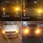 FEZZ Auto LED Ampoules Clignotants BAU15S 1156 150° 5630 18SMD avec Projecteur, 18W Ambre Jaune, Paquet de 2 de la marque FEZZ image 3 produit