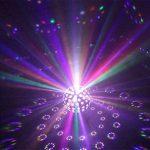 FFJTS LED Disco Balle Lumière Dj Lumières Stroboscopique Sonore Activé Auto Flash Rotatif Cristal Effet Magique Miroir Boule de la marque FFJTS image 2 produit