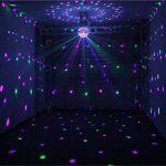 FFJTS LED Disco Balle Lumière Dj Lumières Stroboscopique Sonore Activé Auto Flash Rotatif Cristal Effet Magique Miroir Boule de la marque FFJTS image 4 produit