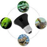 Filfeel Ampoule d'émetteur de Chaleur, Lampes chauffantes Chauffez Les Lampe Infrarouge en Céramique d'ampoule d'émetteur de Chaleur de 50-100W pour l'animal de Reptiles(100W) de la marque Filfeel image 2 produit