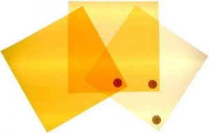 Filtre régler la correction de couleur de la lumière du jour à incandescence CTO 24x24cm de la marque The Bouncing Box image 0 produit