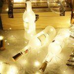 Fitfirst LED Lumières Étanche Avec Télécommande, 10M 100 LED, 8 modes Ambiance Fée Étoilée,Alimenté Par Batterie,Pour Intérieur et Extérieur, Mariage, Fêtes, Noël (Blanc Chaud) de la marque Fitfirst image 3 produit