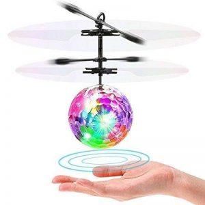 Flying Ball Enfant LISOPO Hélicoptère Ballon coloré Intégré la Musique Disco avec Shinning LED pour les Enfants Adolescents de la marque LISOPO image 0 produit