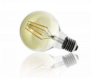 Formano lampe à filament lED 4 w équivalent de 40 w culot e27 intensité variable, industry style ampoule vintage rétro décoratif (rD) de classe énergétique a de la marque BlueBD GmbH image 0 produit