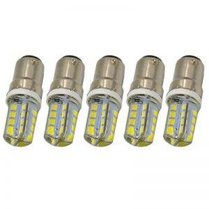 Foxnovo 5pcs B15 1157 AC 240LM 2835 32 LED Ampoule Lampe SMD - Blanc de la marque Foxnovo image 0 produit
