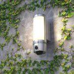 FREECAM Wall-Light Caméra de sécurité, Motion-Activated, WiFi sans Fil Intérieur / Extérieur Floodlight Caméra de sécurité Motion Sensor Light Camera(L910) de la marque FREECAM image 3 produit