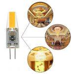 G4 LED 220V 2W 2700K blanc chaud 200LM, ampoules en silicone remplacent les ampoules halogènes traditionnelles 20W, paquet de 5 unites de la marque ZSZT image 3 produit